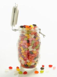 bocal de bonbons